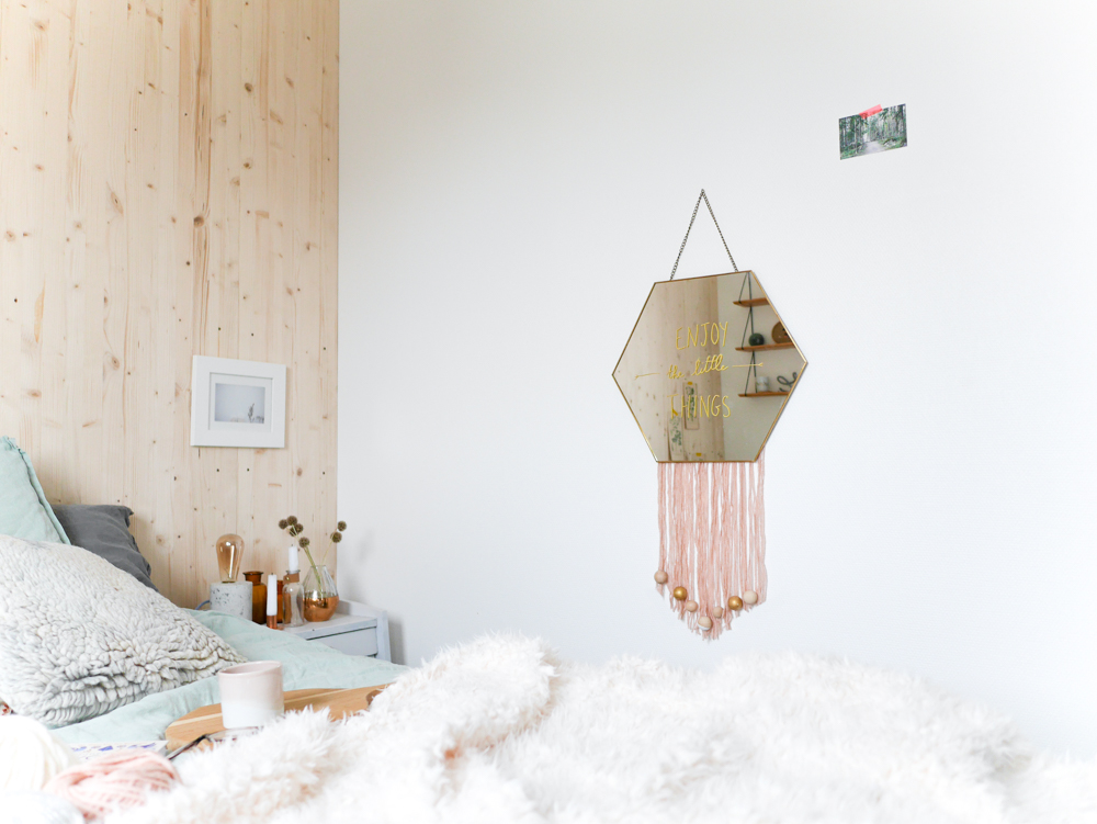 Diy un miroir tiss lili in wonderland for Miroir urban