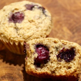 Blueberry Tahitian Lime Whole Grain Muffins