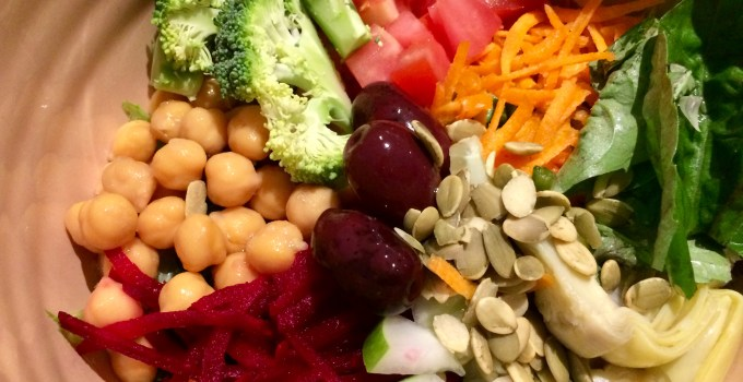My Favorite Mediterranean Salad