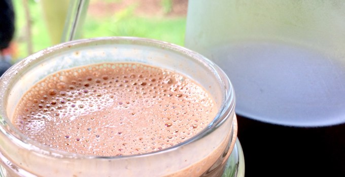 Vegan Chocolate Amaretto Coffee Creamer