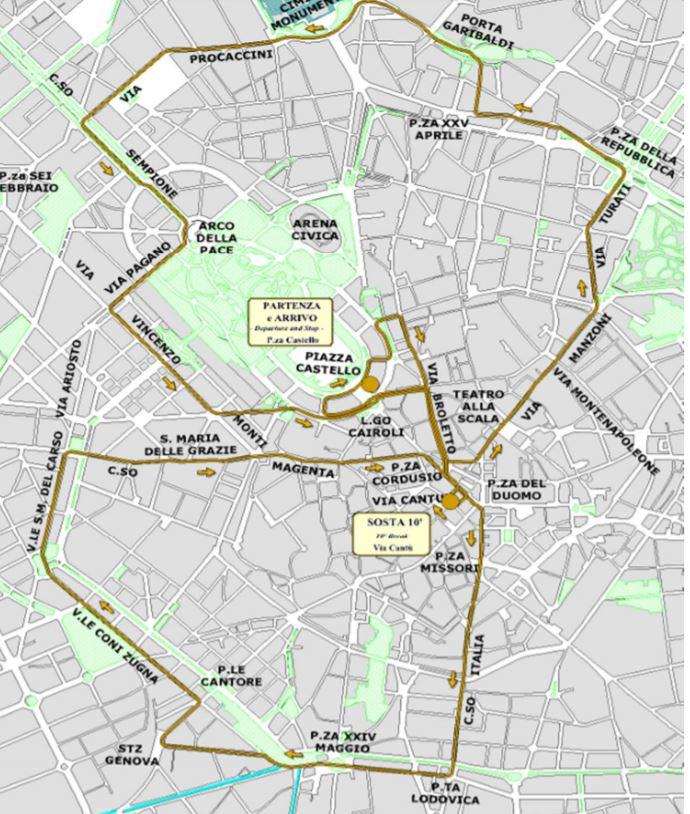 ATMosfera tram ristorante atm Milano percorso