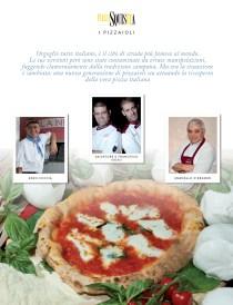 Album delle figurine dei pizzaioli