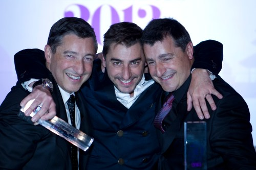 El Celler de Can Roca, Joan, Josep e Jordi Roca  @Worlds 50 Best Restaurants sponsored by S.Pellegrino & Acqua Panna, April 2013