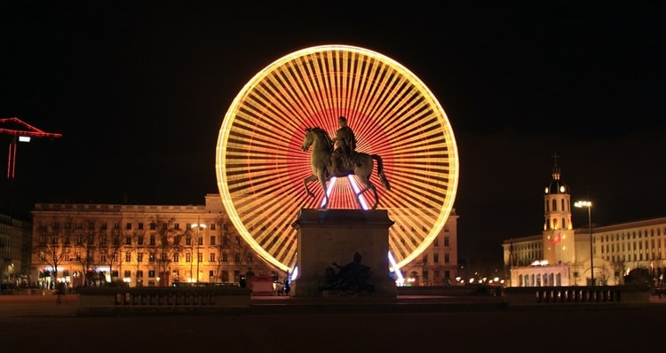 Lione Place Bellecour