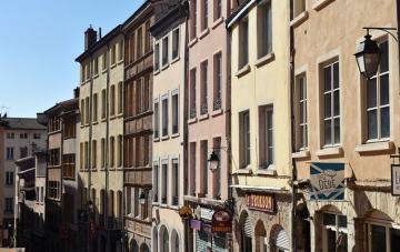 Lione Francia Croix Rousse