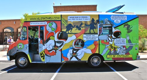 Food Truck fumetto