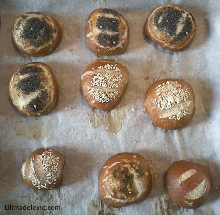 Panini laugenbrot con pasta madre ricetta
