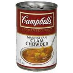 Manhattan Clam Chowder Campbells