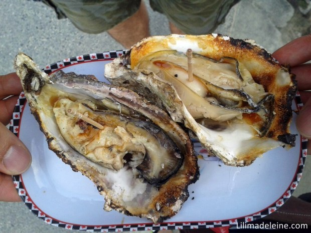 ostriche grigliate
