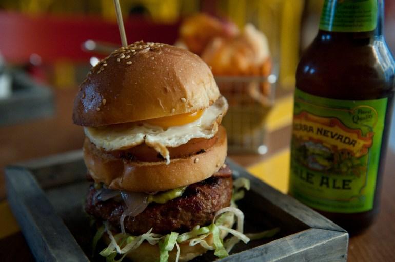 Meatbar de Milan hamburger