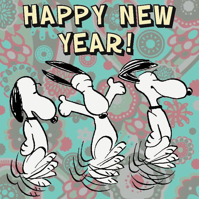 Snoopy Happy New Year