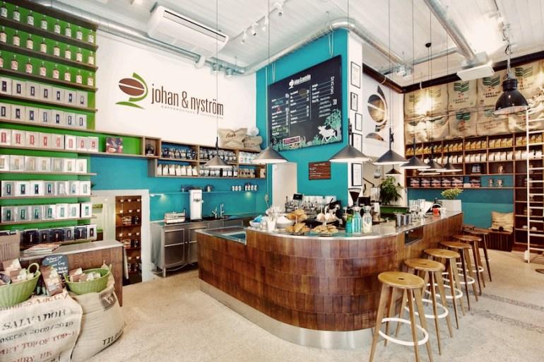 caffetterie più belle del mondo johan & Nystrom Stoccolma