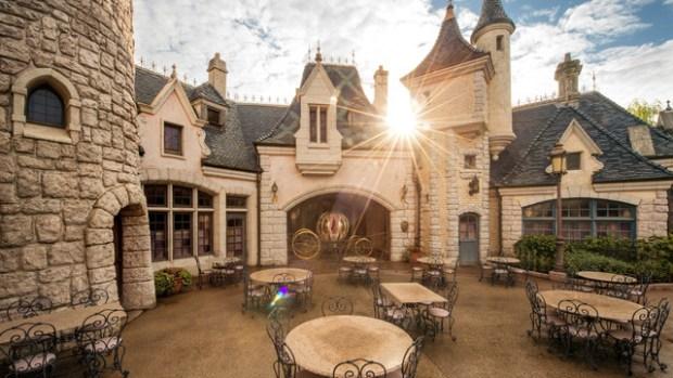 Disneyland Paris Auberge de cendrillon