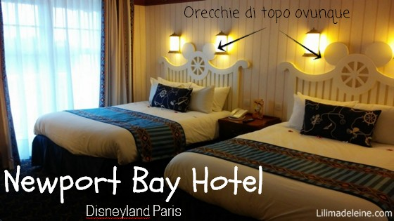Newport Bay Hotel Disneyland Paris