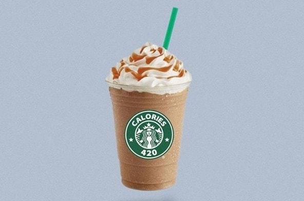 calorie frappuccino