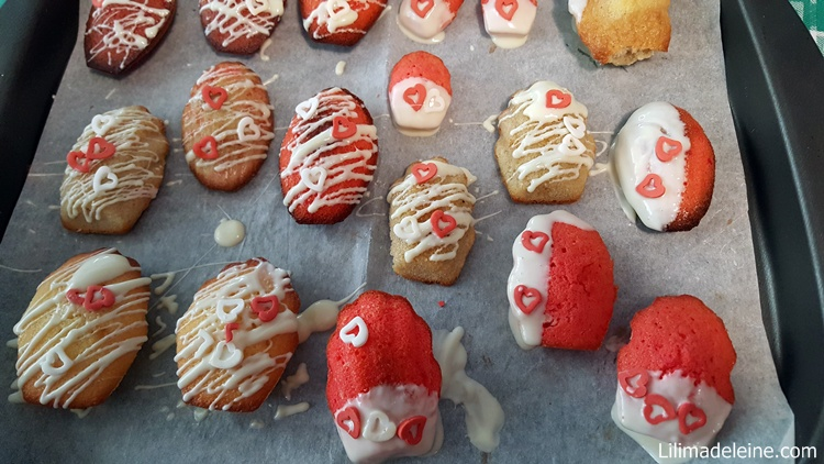 Madeleine di san valentino