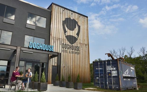 The DogHouse Hotel Columbus Ohio