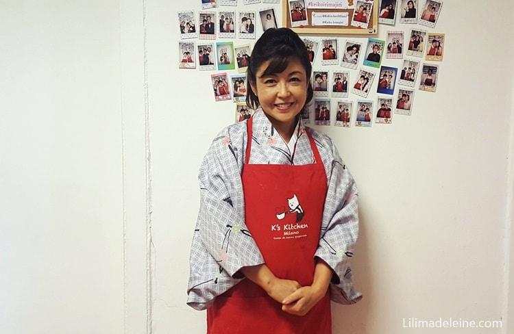 corso di cucina giapponese milano k's kitchen