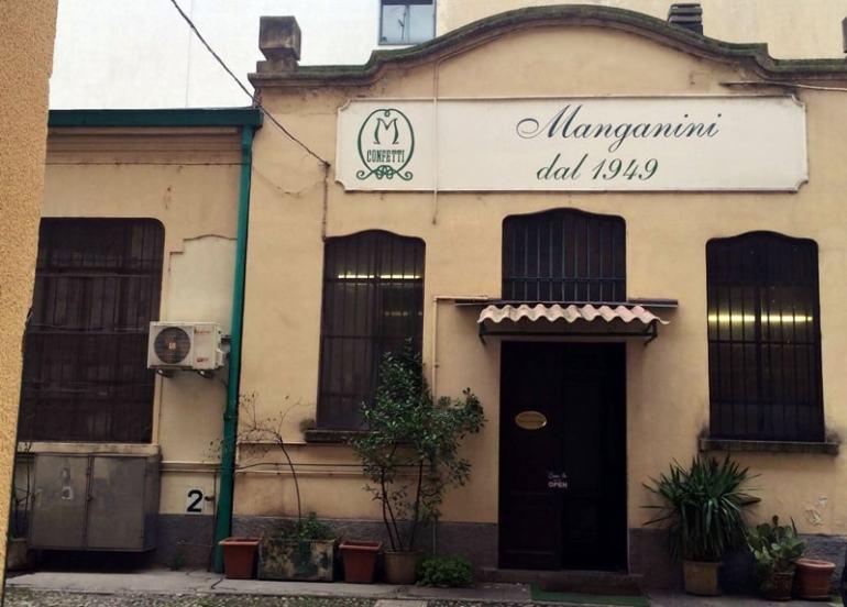 Confetteria manganini Milano viale jenner
