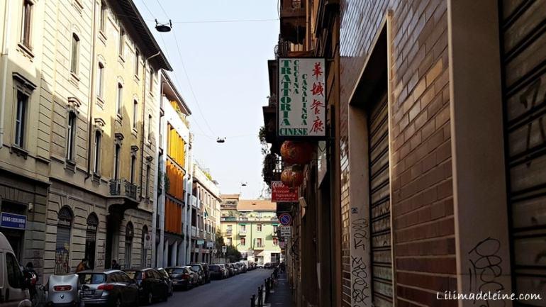 Hua Cheng Milano trattoria cinese via Giordano Bruno