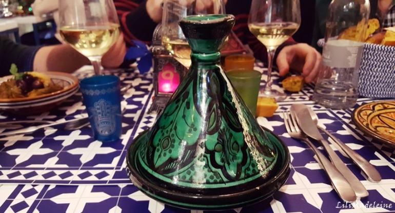 Riad Majorelle Bistrot Milano: Menù del ristorante in via San Gregorio