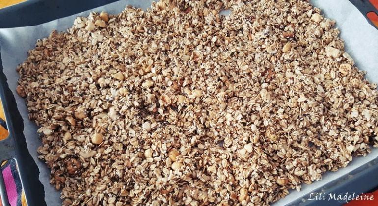 granola fatta in casa ricetta semplice
