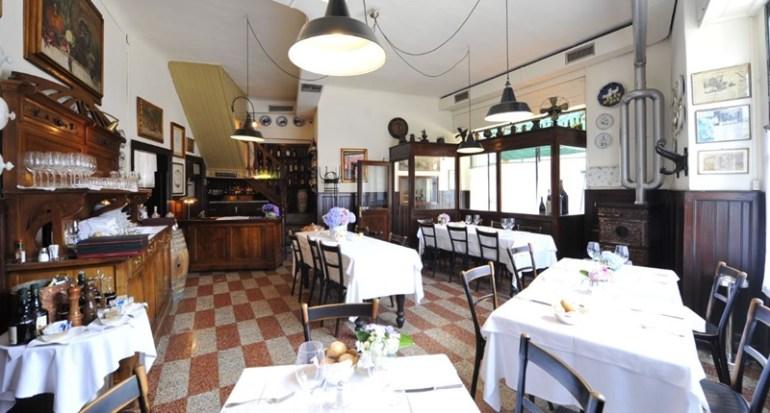 Locali storici Milano trattoria della Pesa