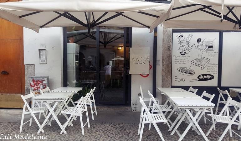 Ang 56 Milano menù