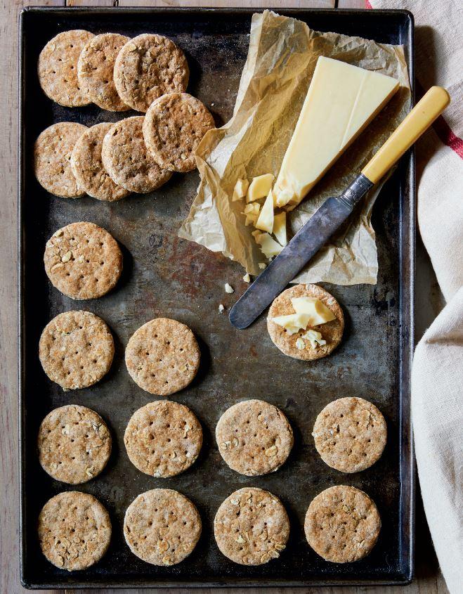Downton Abbey biscotti digestive