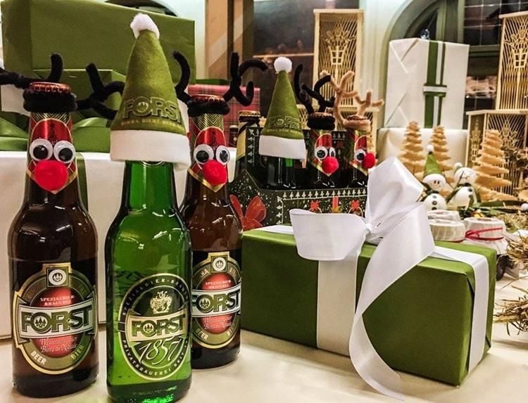 Foresta Natalizia Forst Lagundo birra di Natale