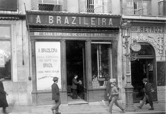 Caffè letterari A Brasileira Lisbona