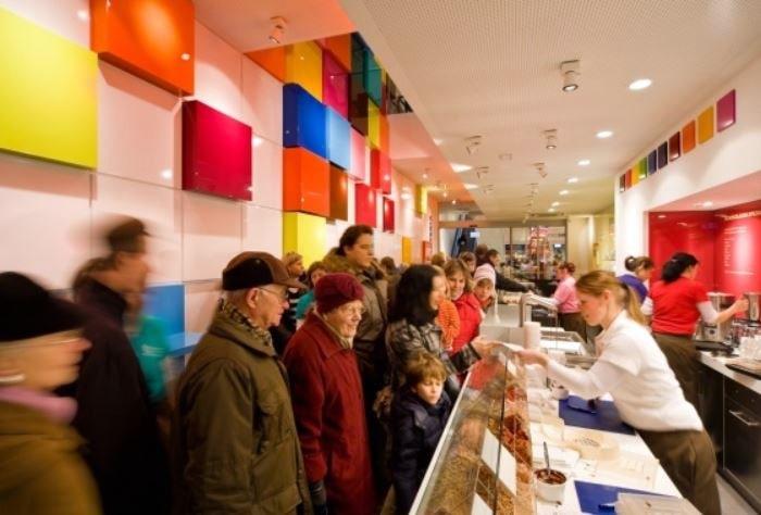negozio Ritter Sport Berlino