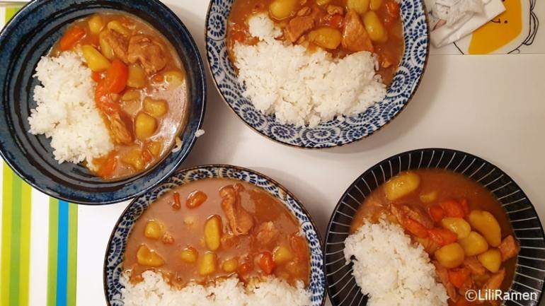 riso al curry giapponese