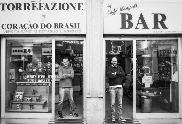 Torrefazione a Milano Coracao do Brasil