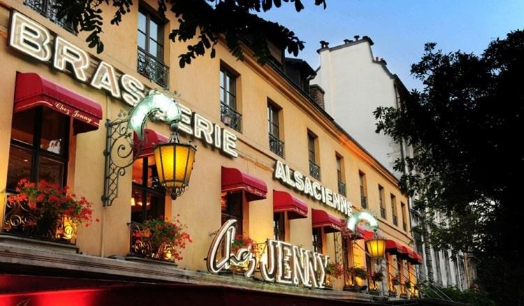 Caffè Parigi brasserie chez Jenny