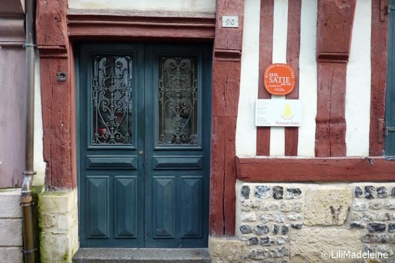 Normandia, Honfleur Casa Erik Satie