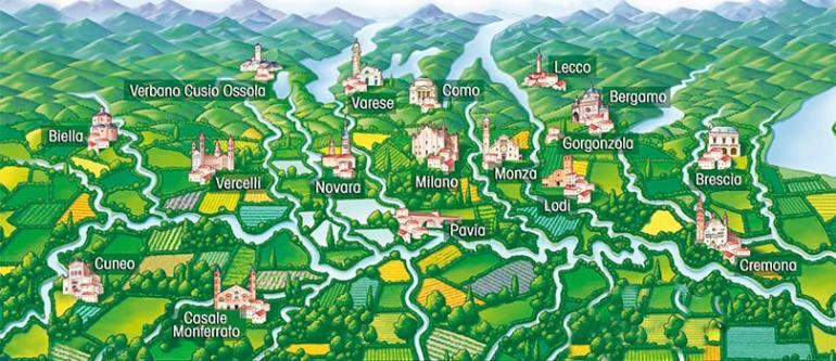 zona produzione Gorgonzola