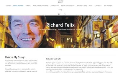 New website for Richard Felix