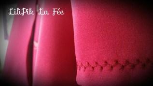 Petit point décoratif pour habiller le bas de manche