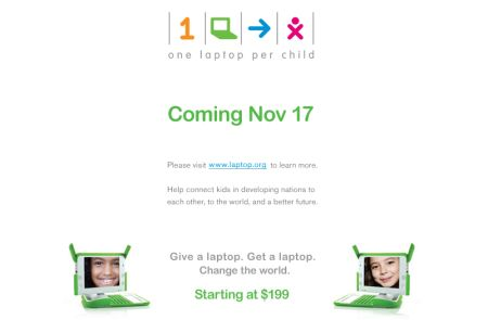 OLPC Buy One Give One