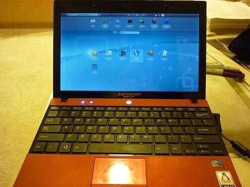 ZaReason Terra HD mini-laptop with Linux reviewed - Liliputing