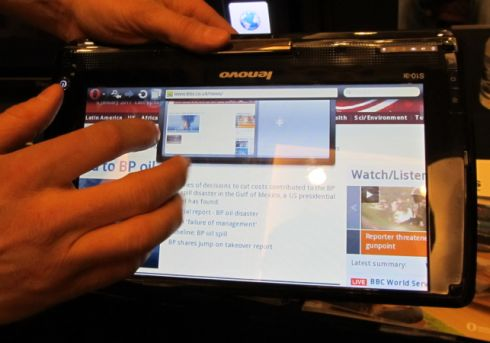 Opera Software unveils web browser for Windows tablets – Liliputing