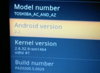Toshiba AC100 now runs Google Android 2.2 Froyo