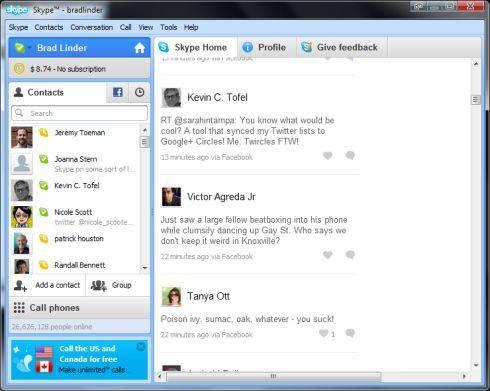 Skype 5.5 for Windows
