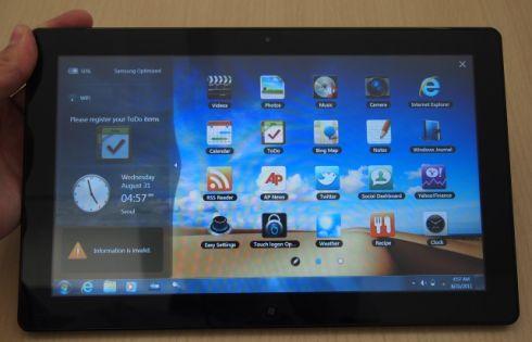 Samsung Series 7 tablet