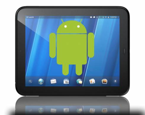 HP TouchPad Android bounty