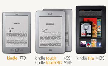 Amazon Kindles