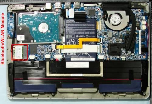 Acer Aspire S3 open