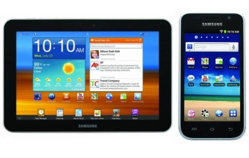 Samsung Galaxy Tab 8.9 and Galaxy S WiFi 4.0