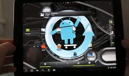CyanogenMod 7.1 Android on the HP TouchPad